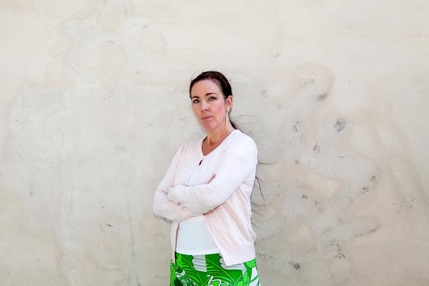 Roks ordförande Jenny Westerstrand. Foto: Frida Ekman