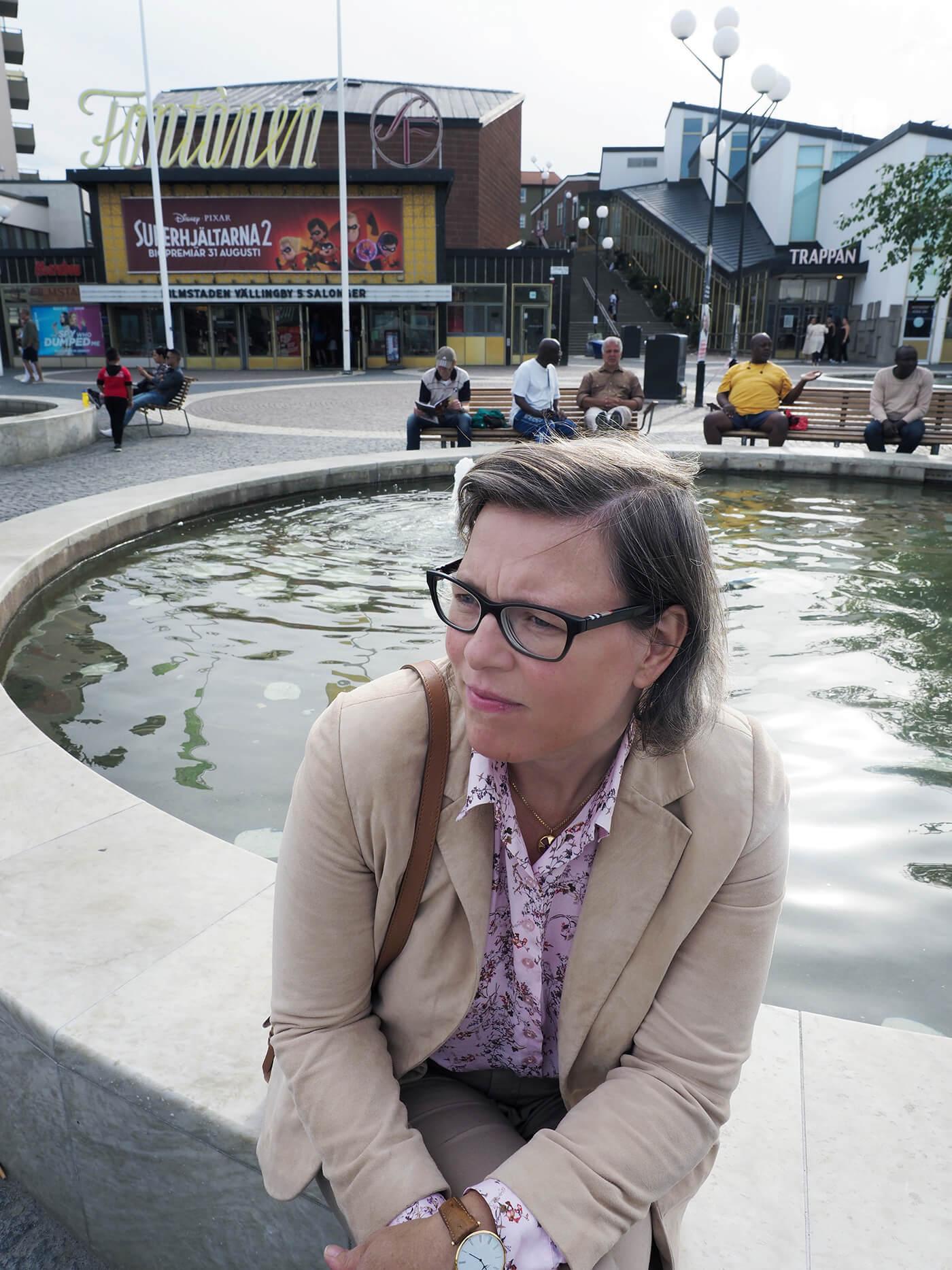 Författaren Lena Andersson. Foto: Severus Tenenbaum.