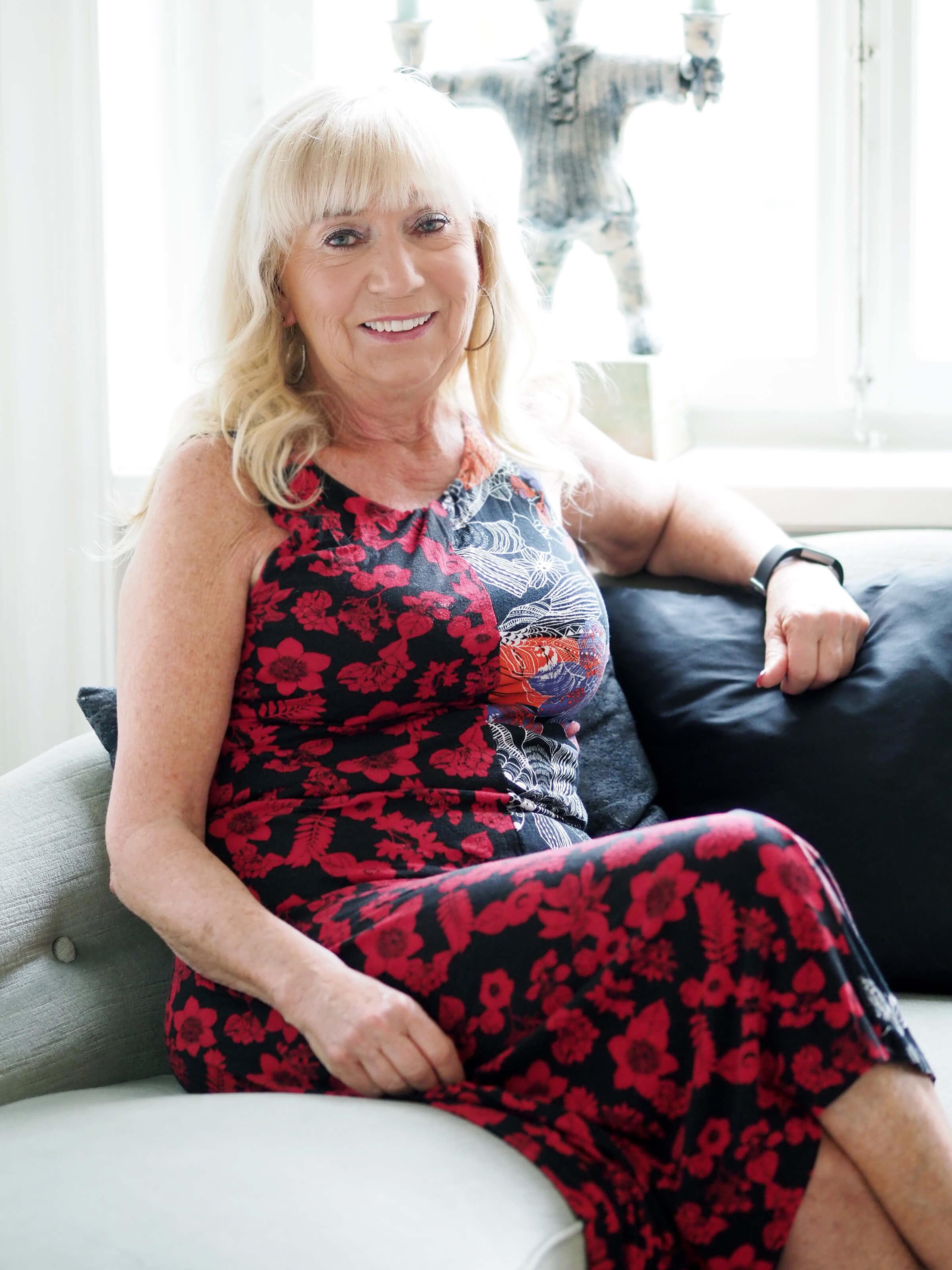 Professor Eva Lundgren. Foto Severus Tenenbaum