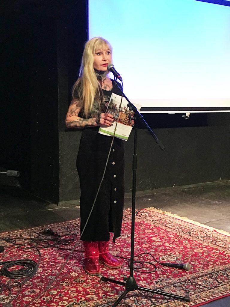 Unni Drougge, foto Ghita Huldén