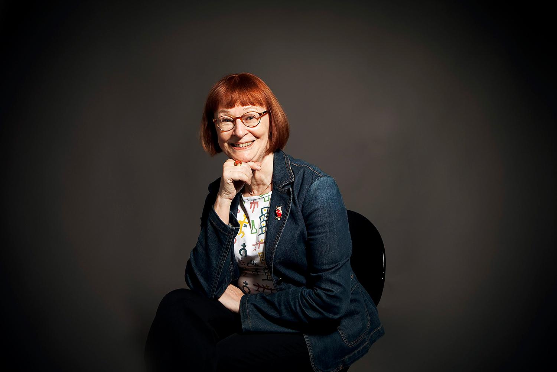Agneta Stark, foto Mattias Ahlm, Sveriges radio