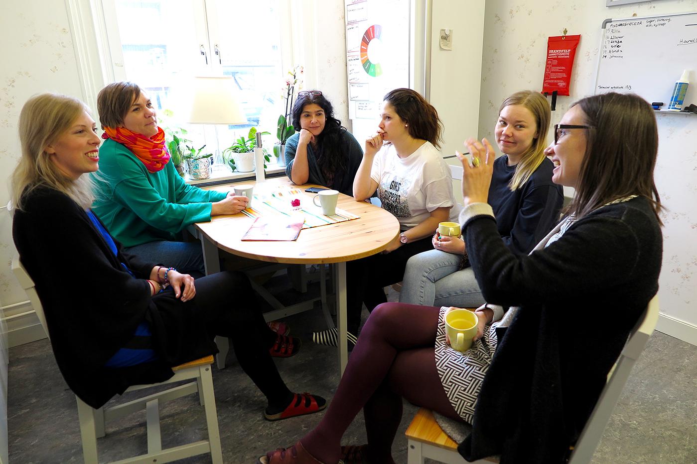 Kvinno- och tjejjouren i Västerås, foto Marja Bäckman