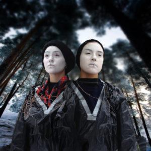 Maxida och Mimie Marak, foto Henrik Blind