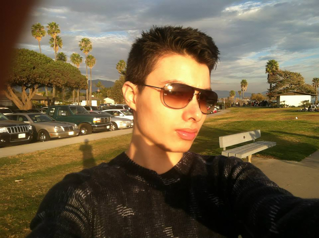 Elliot Rodger, foto Youtube