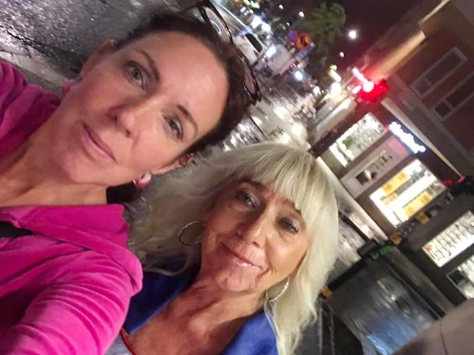 Jenny Westrands och Eva Lundgren, foto Jenny Westerstrand.