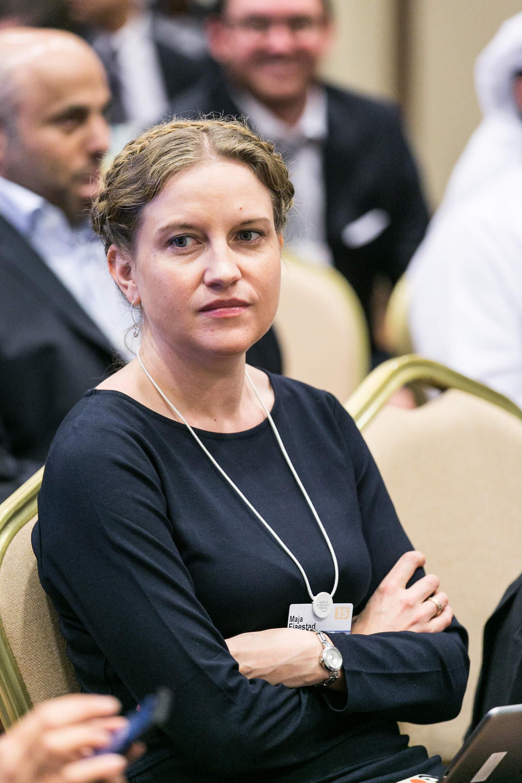 Maja Fjaestad, foto World Economic Forum, Flickr