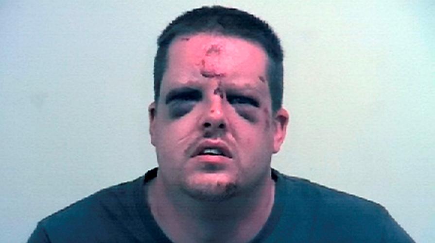 Misshandlad våldtäktsman, foto South Yorkshire polisen