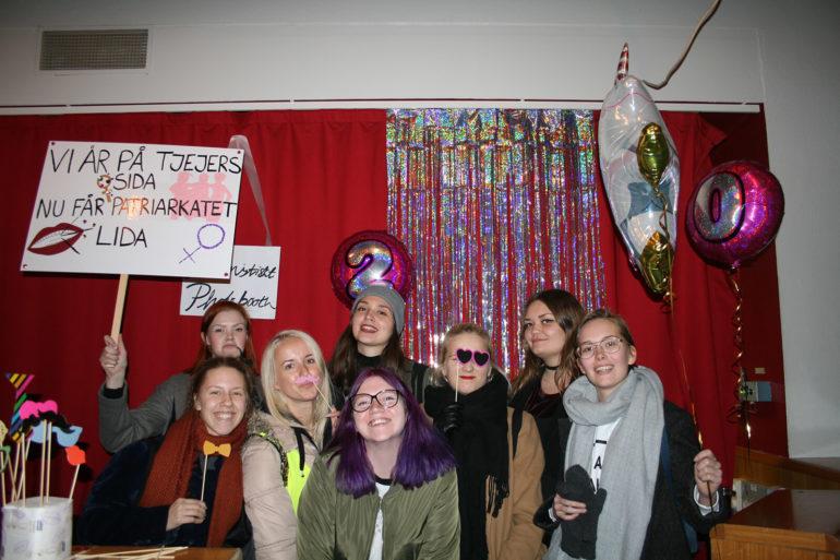 Tjejjourernas 20-års firande, foto Emma Persson