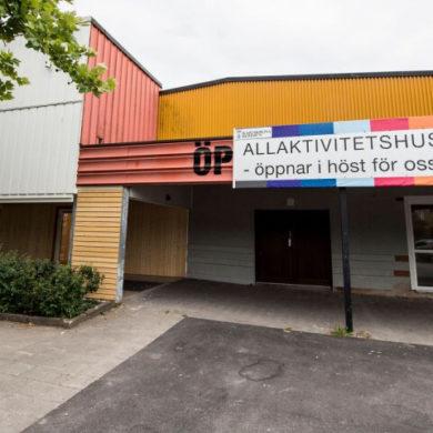 Allaktivitetshus, foto Staffan Lindbom BLT