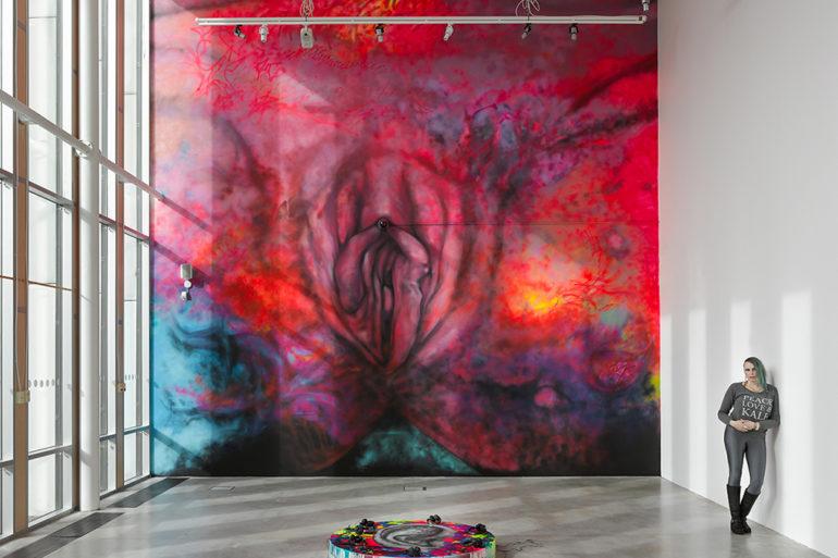 Carolina Falkholts konstverk, foto elStudio