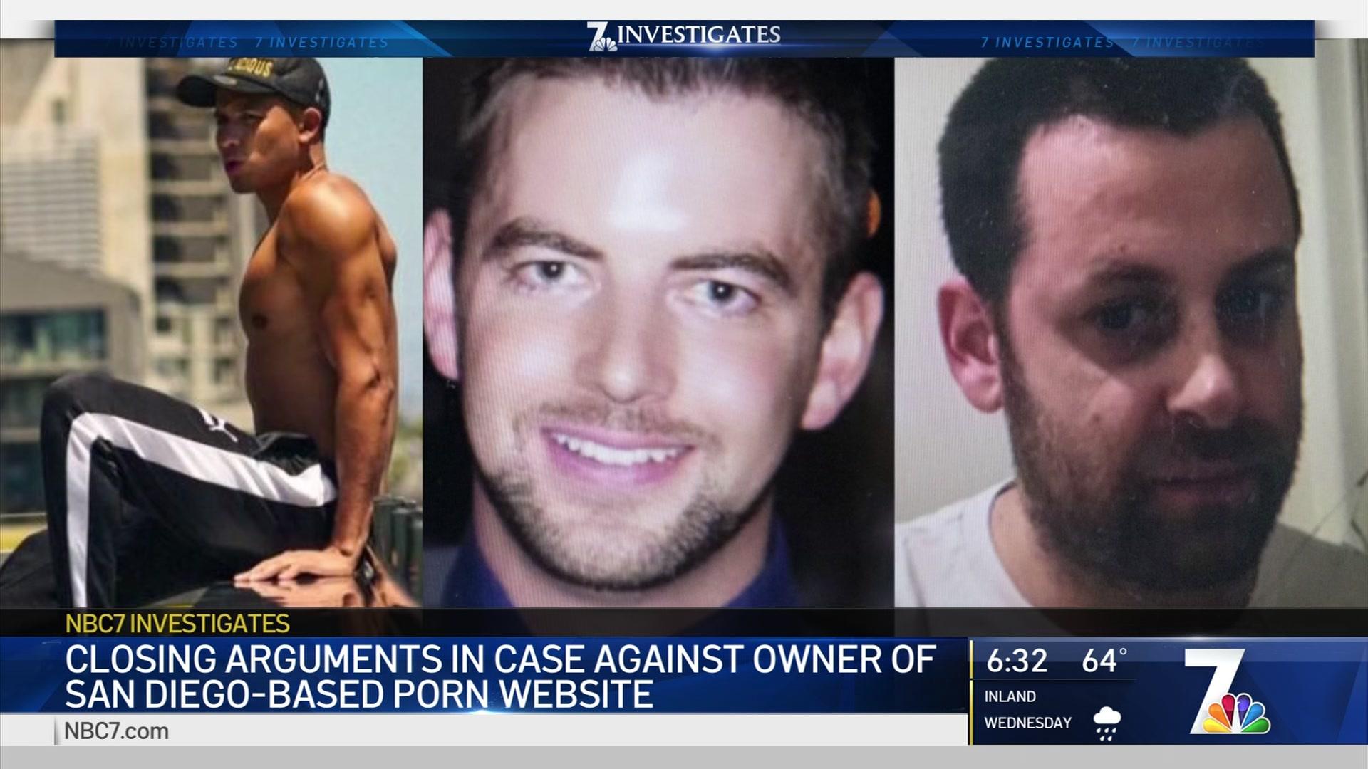 Bilder i samband med rättegången mot Girls do porn