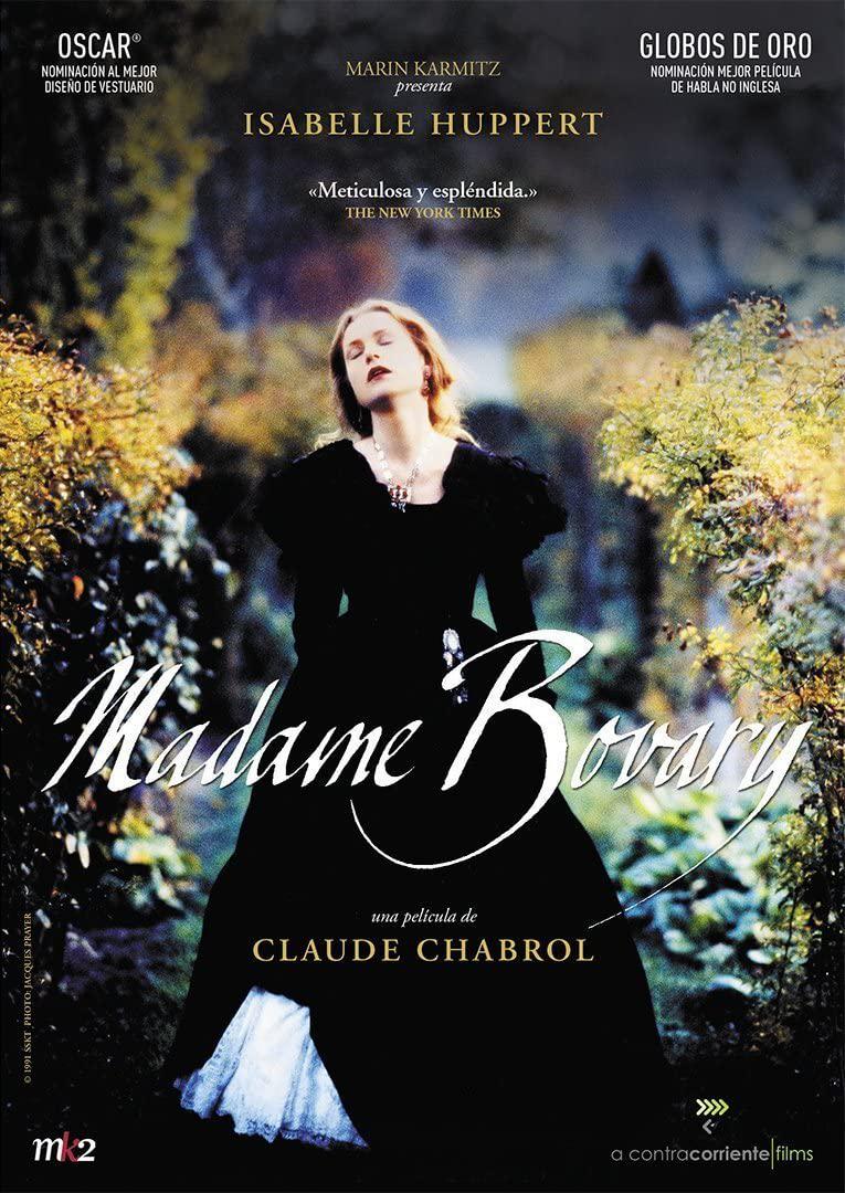 Madame Bovary, dvd-omslag