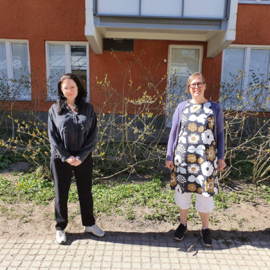 Sabina Tedestam och Anna-Maria Yasdani, foto Sanna Holm
