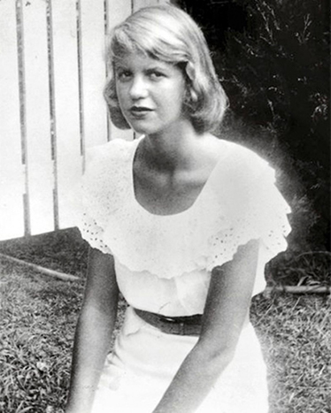 Sylvia Plath, foto Arkivbild