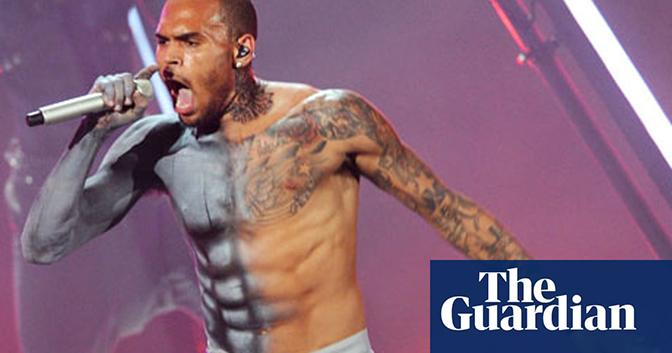 Chris Brown, nyhetspuff The Guardian