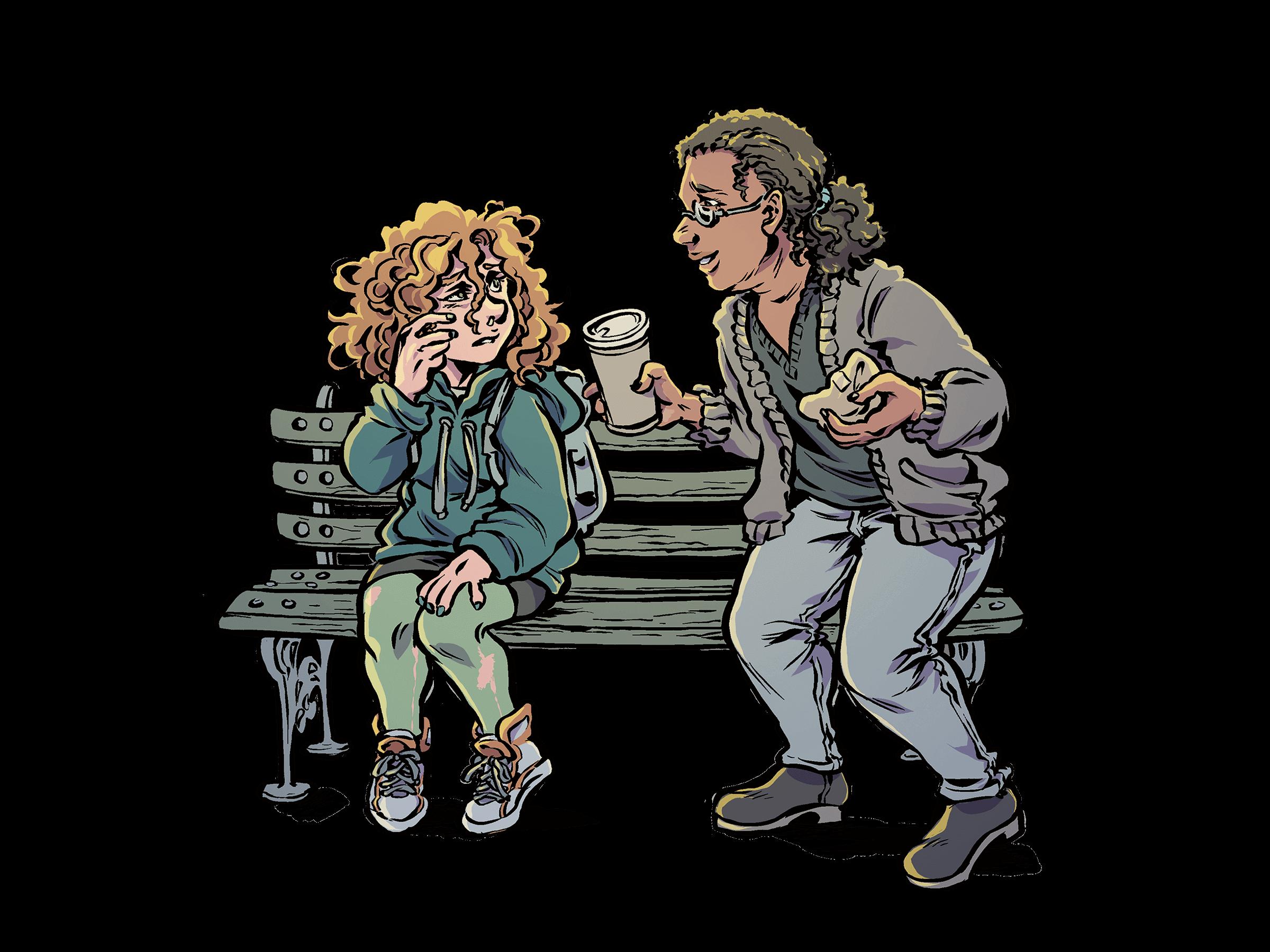 3-2020, illustration detalj Lisa Medin
