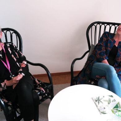 Lena Löfvander och Johanna Lundqvist, foto Marja Beckman
